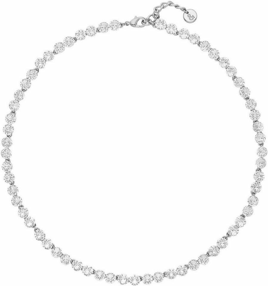 Lolaandgrace Collier »PALACE ALL-AROUND COLLIER, 5251843« mit Swarovski® Kristallen in silberfarben