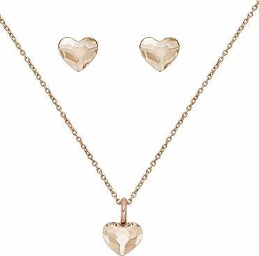 Lolaandgrace Schmuckset »SPARK HEART SET, 5217117« mit Swarovski® Kristallen