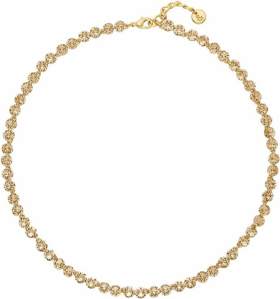 Lolaandgrace Collier »PALACE ALL-AROUND COLLIER, 5251847« mit Swarovski® Kristallen in goldfarben
