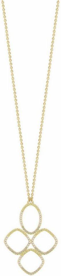 Lolaandgrace Kette mit Anhänger »CAPRI LONG NECKLACE, 5251960« mit Swarovski® Kristallen in goldfarben