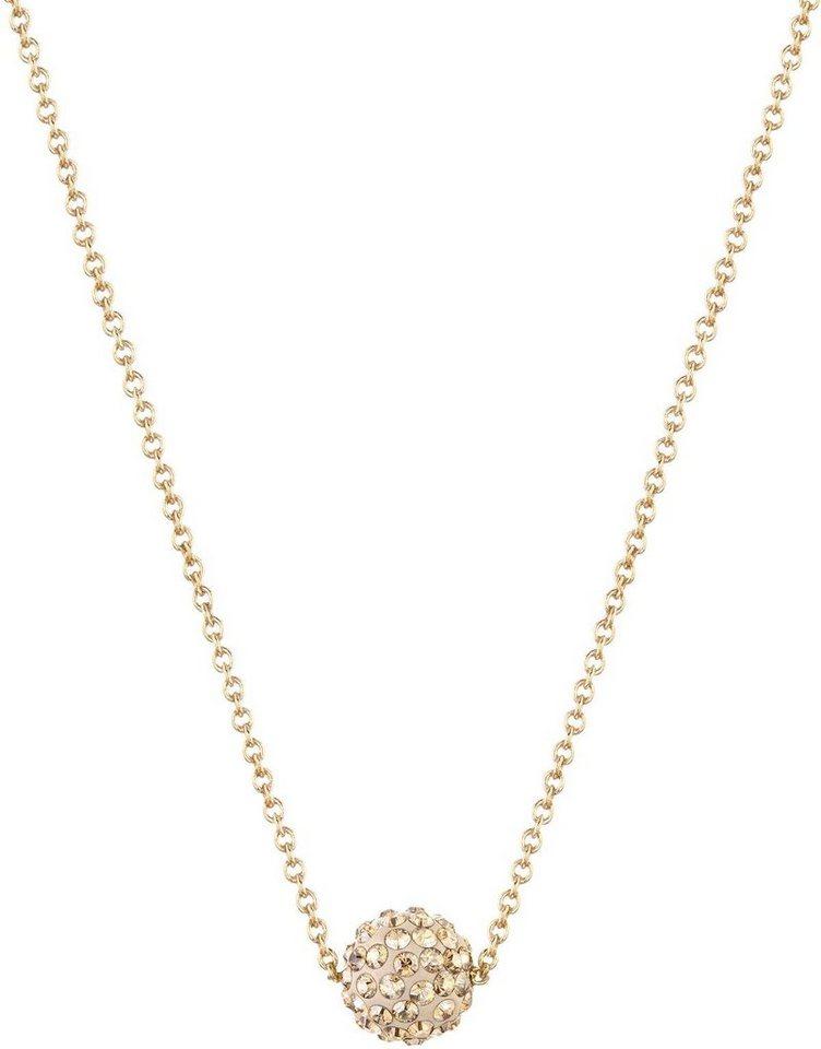 Lolaandgrace Kette mit Anhänger »RIO PENDANT, 5182746« mit Swarovski® Kristallen in goldfarben