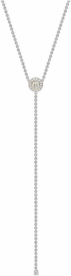 Lolaandgrace Kette mit Anhänger »VIENNA Y-NECKLACE, 5251854« mit Swarovski® Kristallen in silberfarben