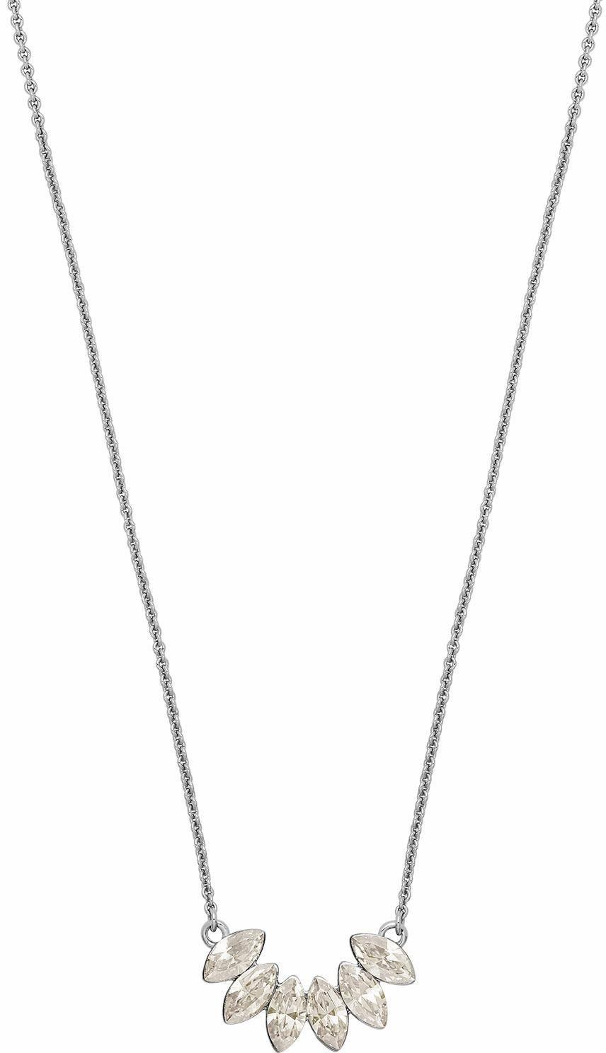 Lolaandgrace Collier »LEAF PENDANT, 5251742«, mit Swarovski® Kristallen