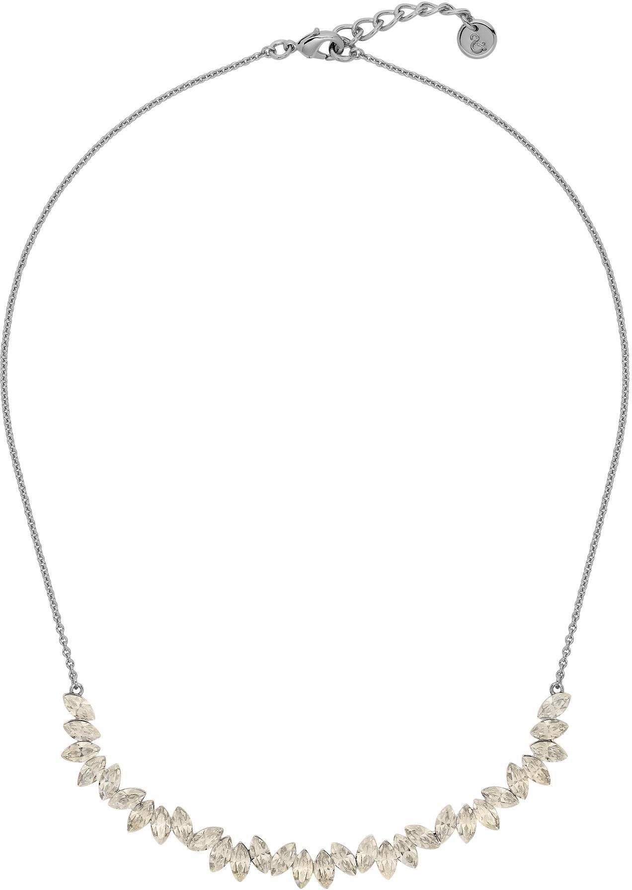 Lolaandgrace Collier »LEAF COLLIER, 5251741«, mit Swarovski® Kristallen
