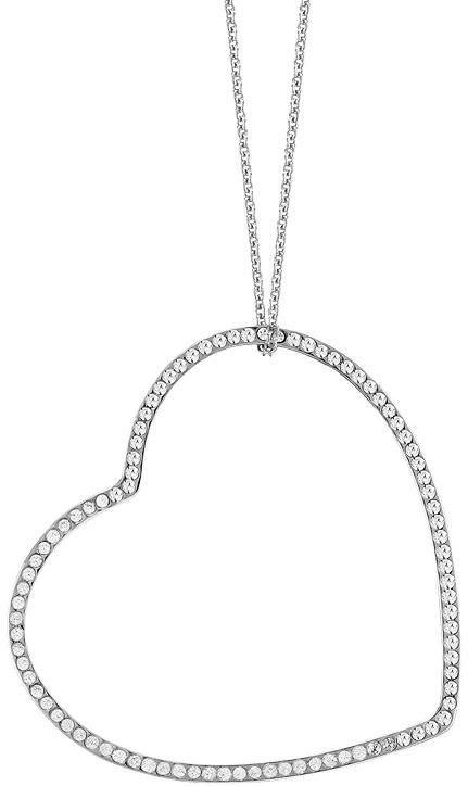Lolaandgrace Kette mit Anhänger »VENICE LONG PENDANT, 5182982«, mit Swarovski® Kristallen