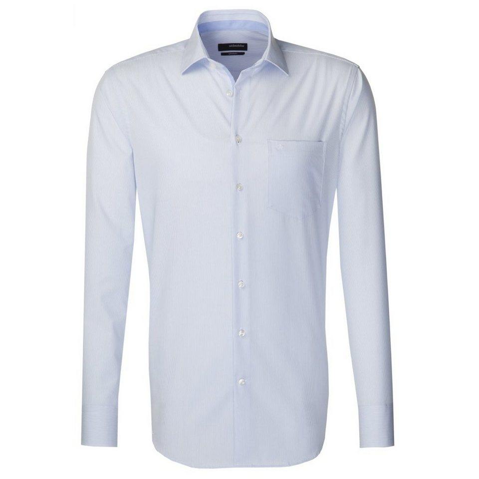 Seidensticker Businesshemd »Splendesto« in hellblau