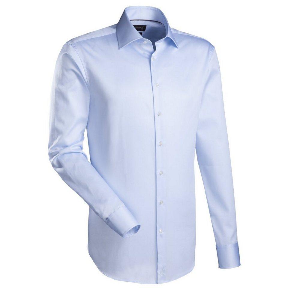 Jacques Britt Businesshemd »Brown Label« in blau