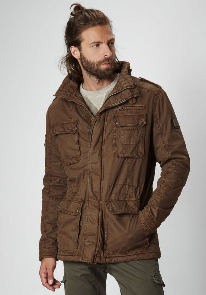 NAGANO Fieldjacket »IKUTA« in lt. brown