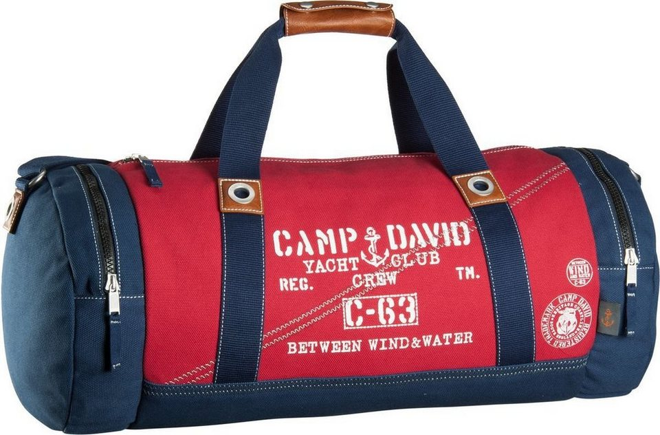 Camp David Deep River 40058 Weekender in Rot