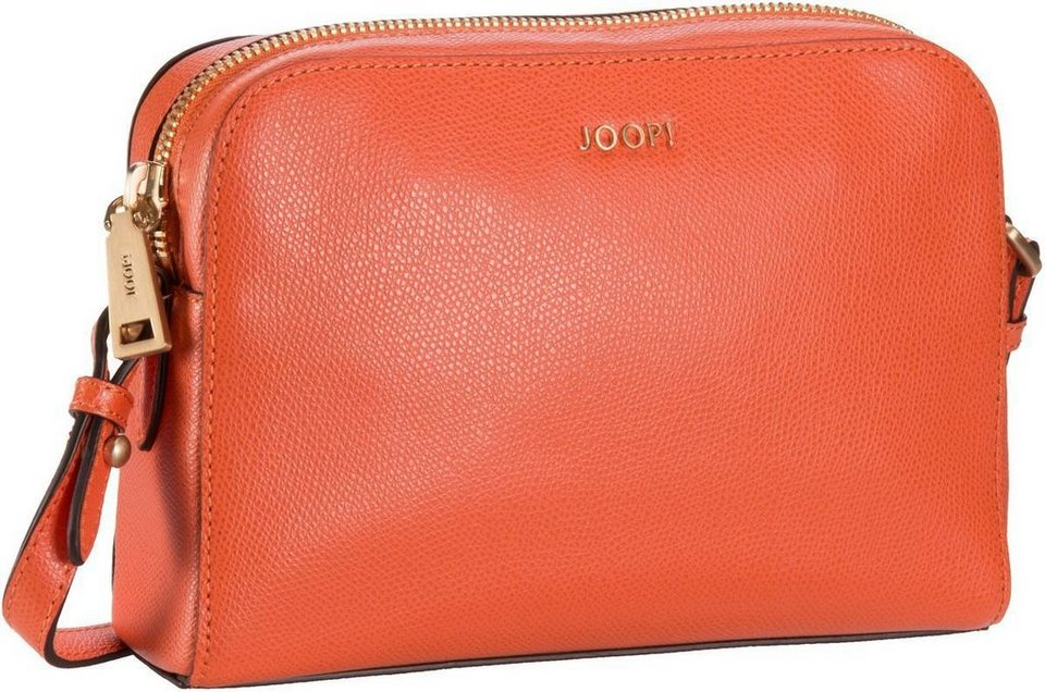 Joop Cloe Grano Shoulder Bag Small in Orange