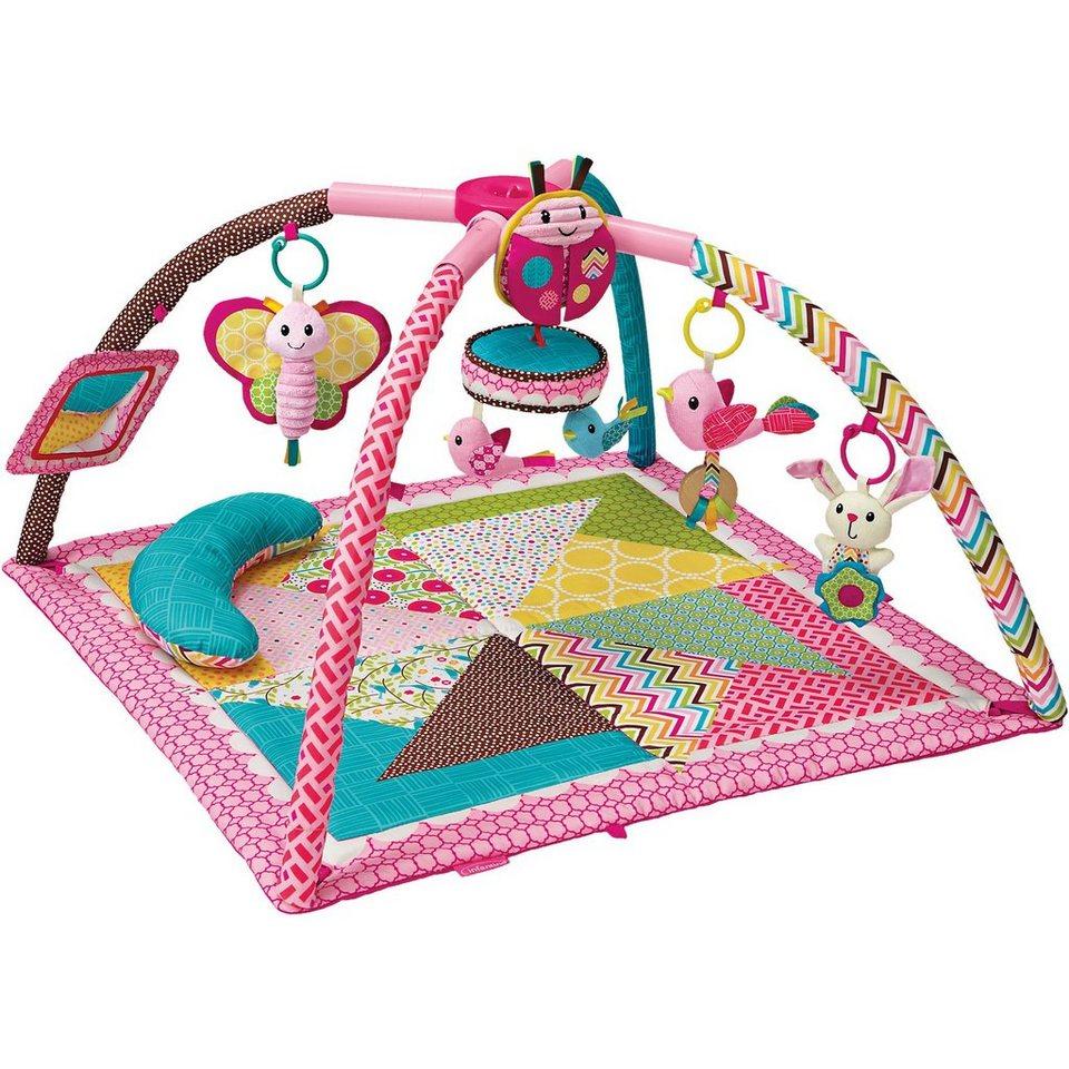 BKids Deluxe Spieldecke mit Spielbogen, pink
