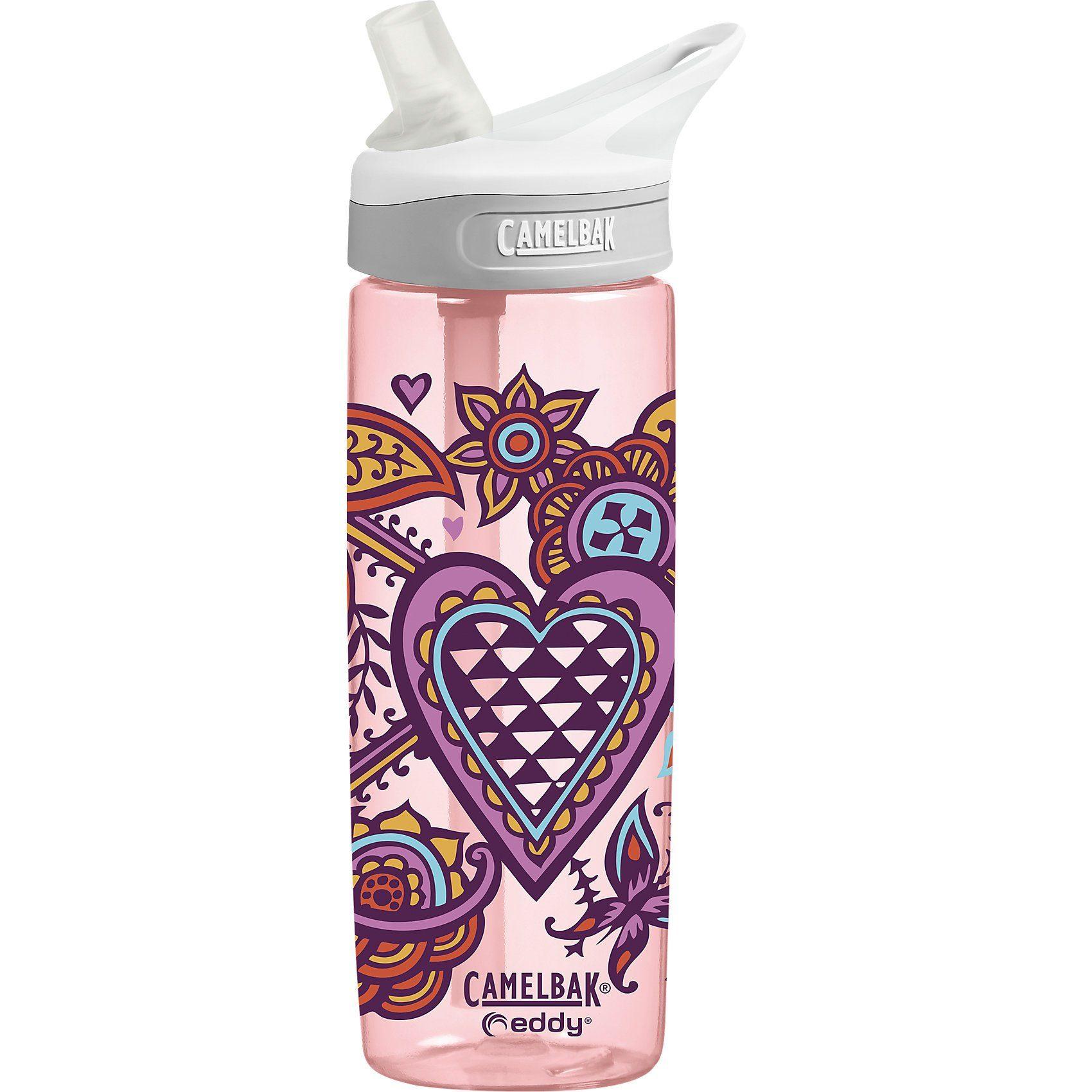 CamelBak Trinkflasche EDDY Henna Hearts, 600 ml