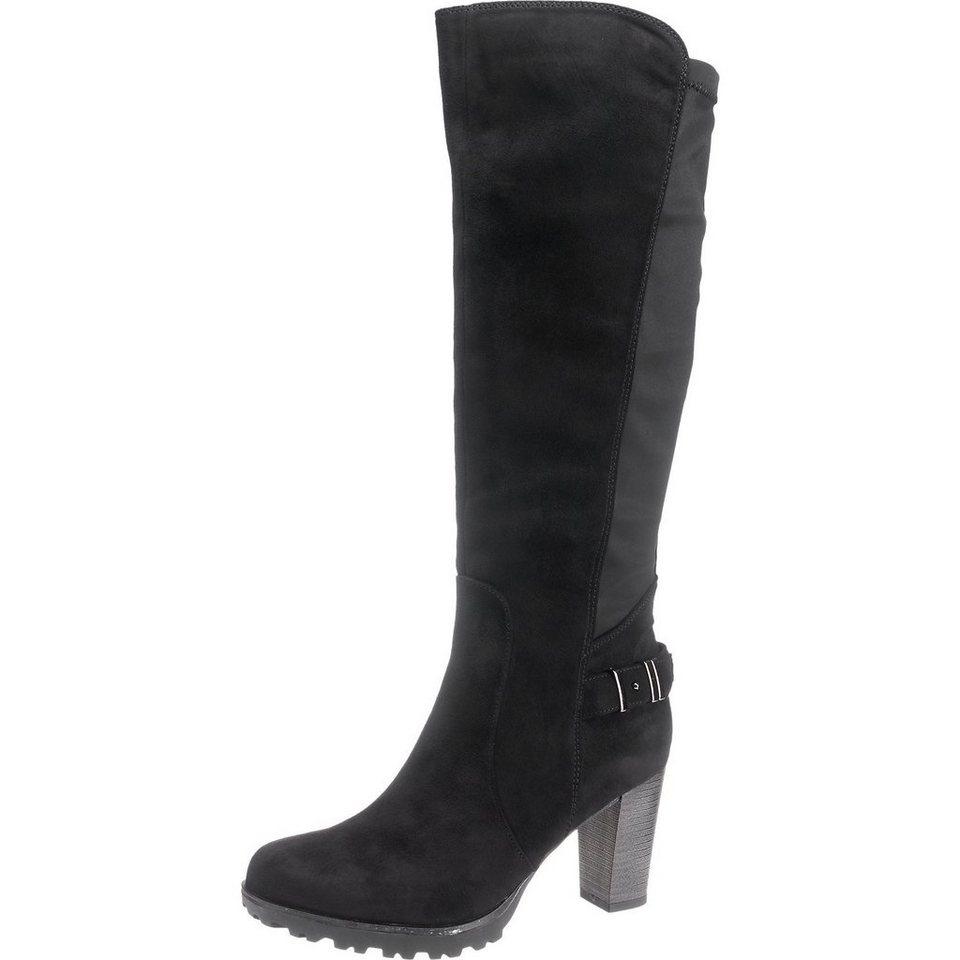 Supremo Stiefel in schwarz
