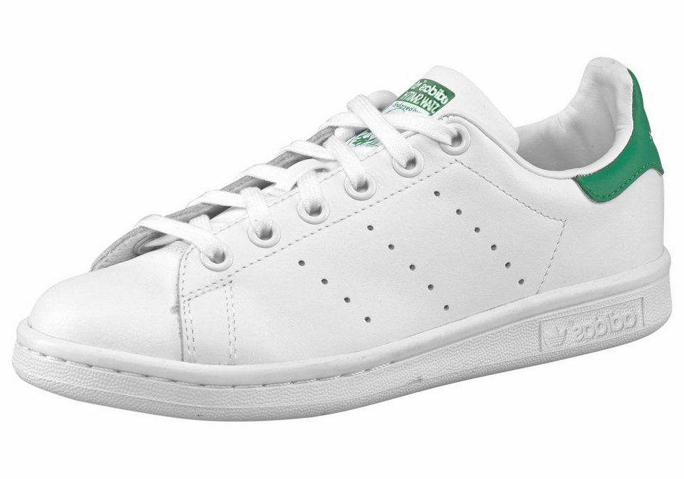 adidas Originals »Stan Smith« Sneaker in weiß-grün