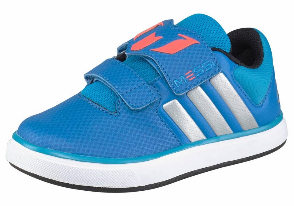 adidas Performance »Messi CF Kinder« Sneaker Kinder in blau-weiß
