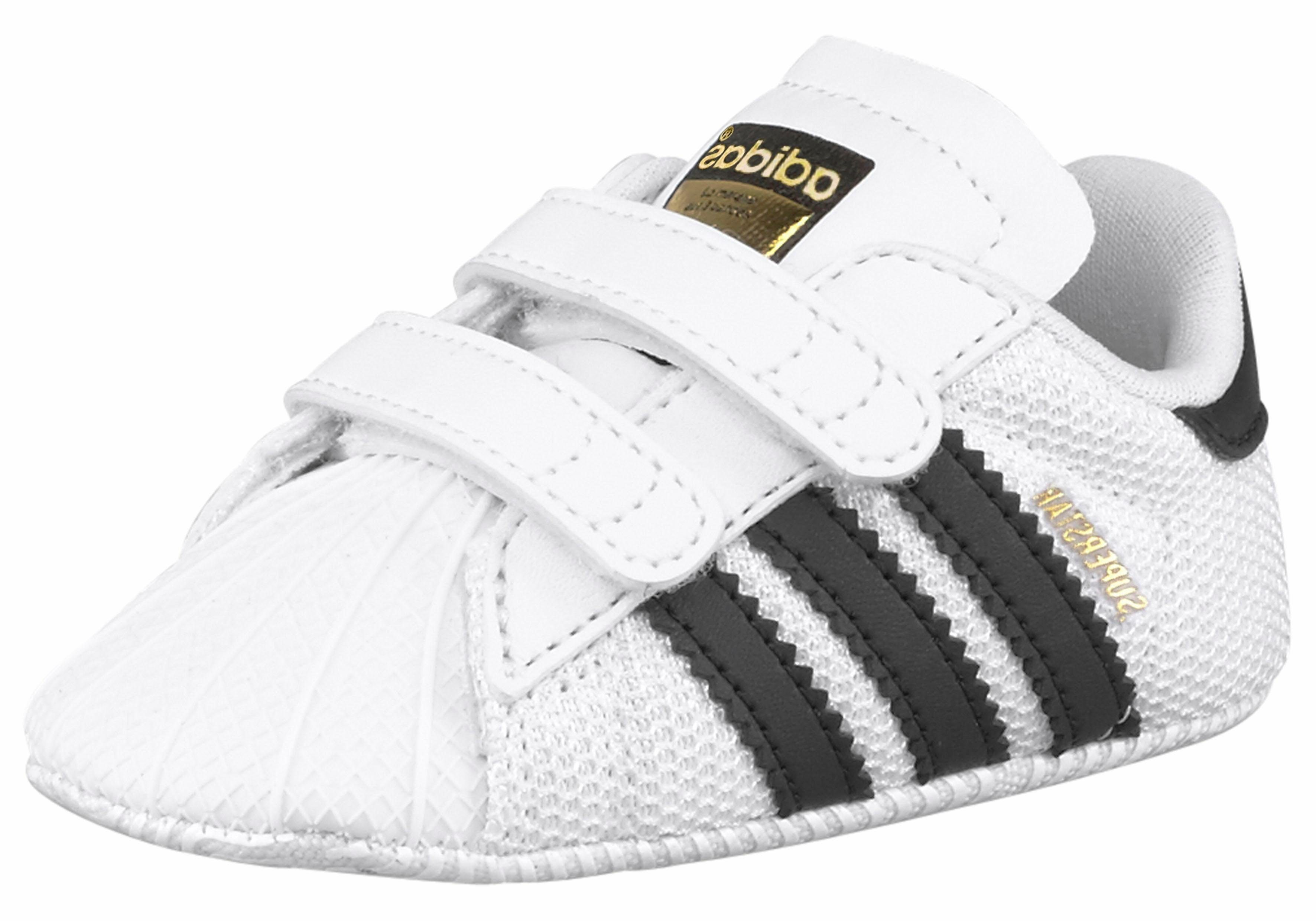 adidas superstar crib baby sneaker m sternen schwarz. Black Bedroom Furniture Sets. Home Design Ideas