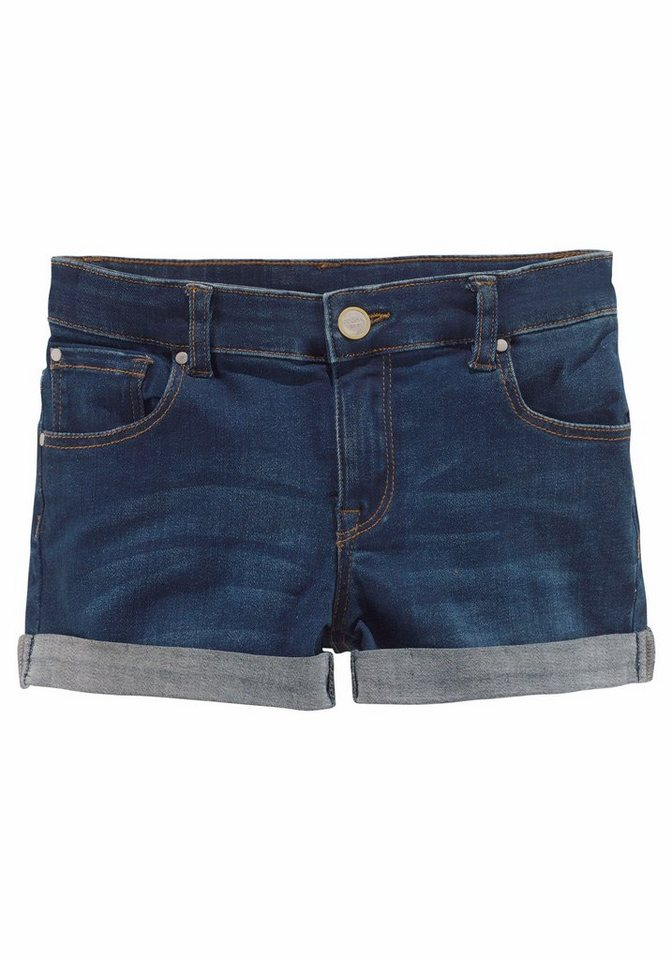 Bench Jeansshorts 5-Pocket-Modell in blue-denim