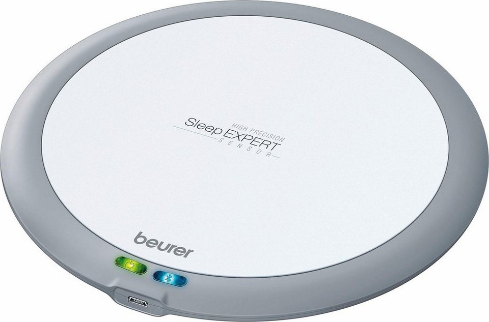 Beurer SleepExpert Schlafsensor SE 80, Hochpräzise, kontaktfreie Schlafüberwachung und -analyse in grau/weiß