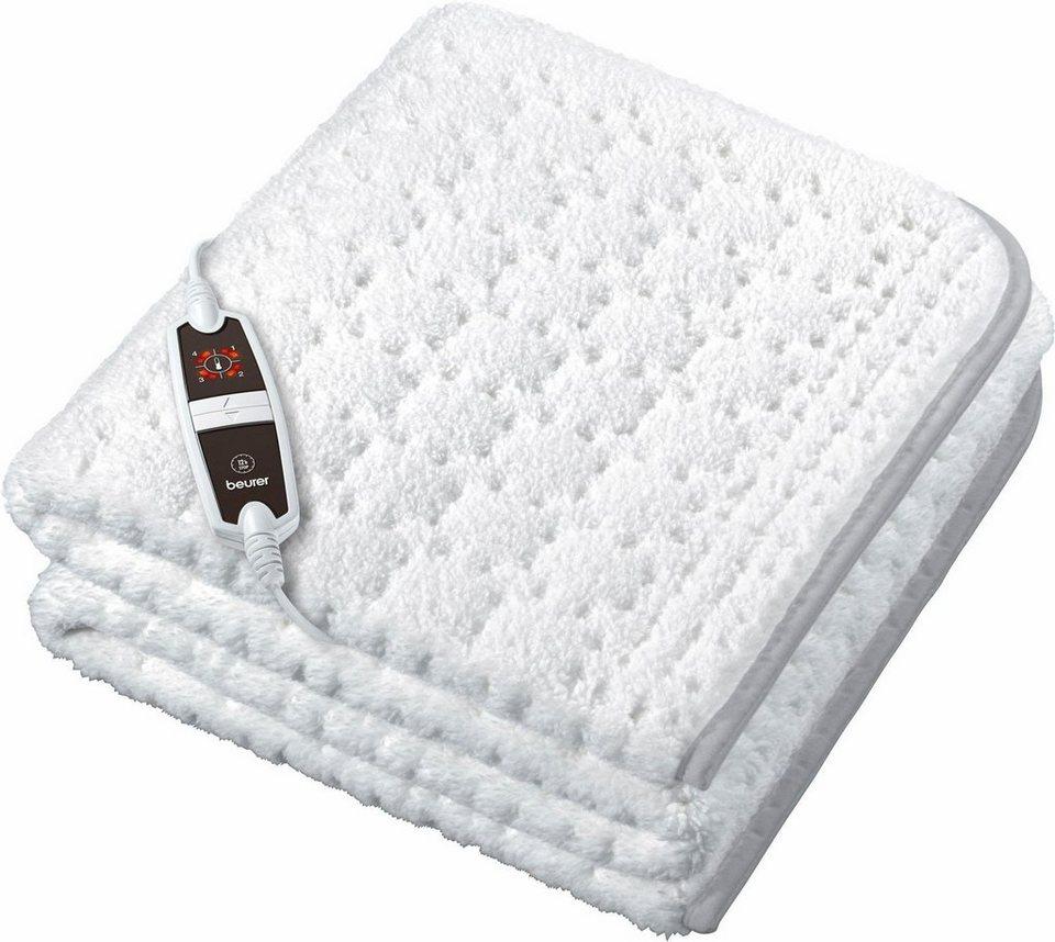 Beurer Wärmeunterbett UB 65 Supercosy in weiß/grau