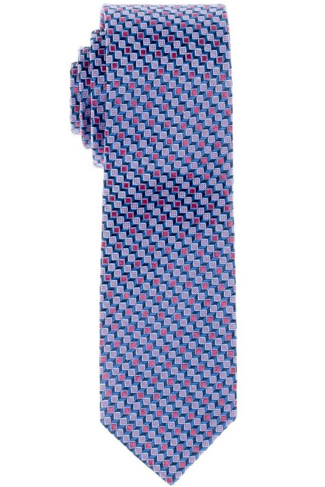 ETERNA Krawatte »schmal« in rot