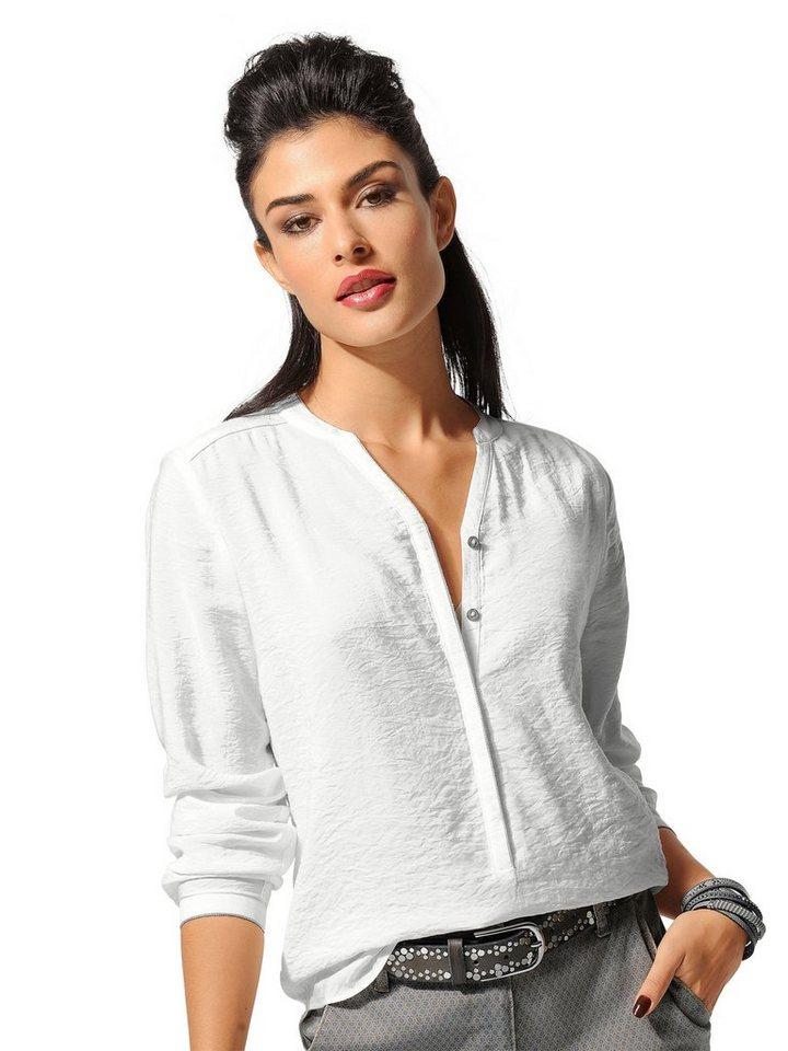 Alba Moda Bluse in offwhite