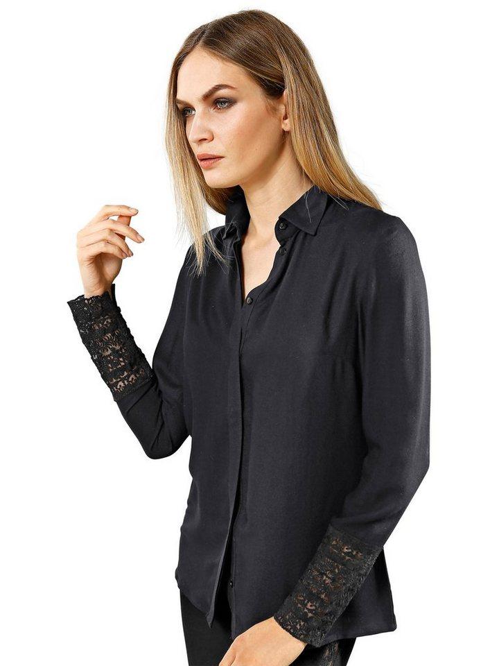 Alba Moda Bluse in schwarz