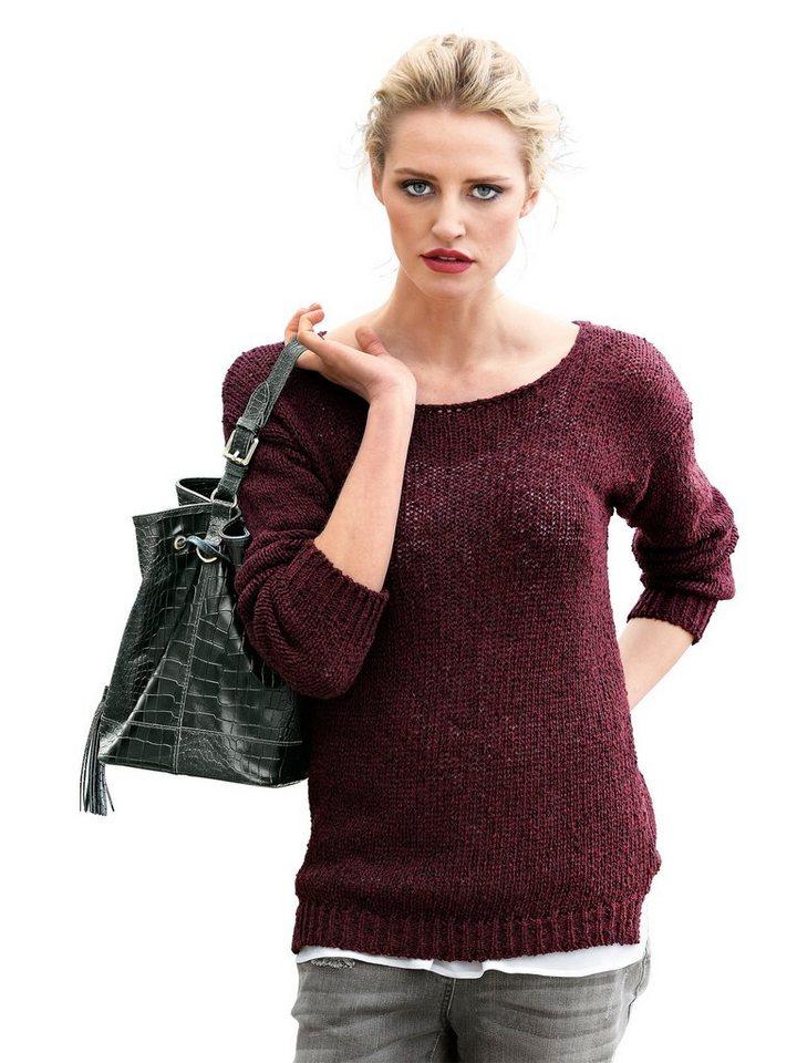 Alba Moda Pullover in bordeaux