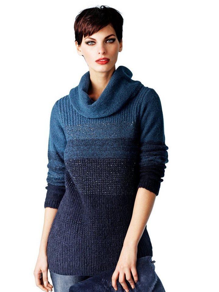 Alba Moda Pullover in blau