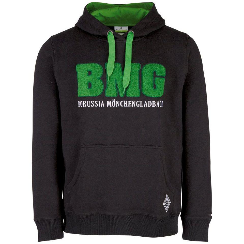 KAPPA Sweatshirt »Borussia Mönchengladbach Sweatshirt« in black