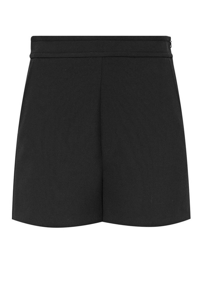 HALLHUBER High-Waist Shorts in schwarz