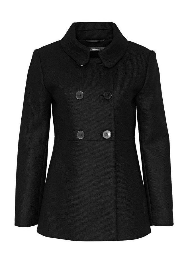 HALLHUBER Cabanjacke aus Wolle in schwarz