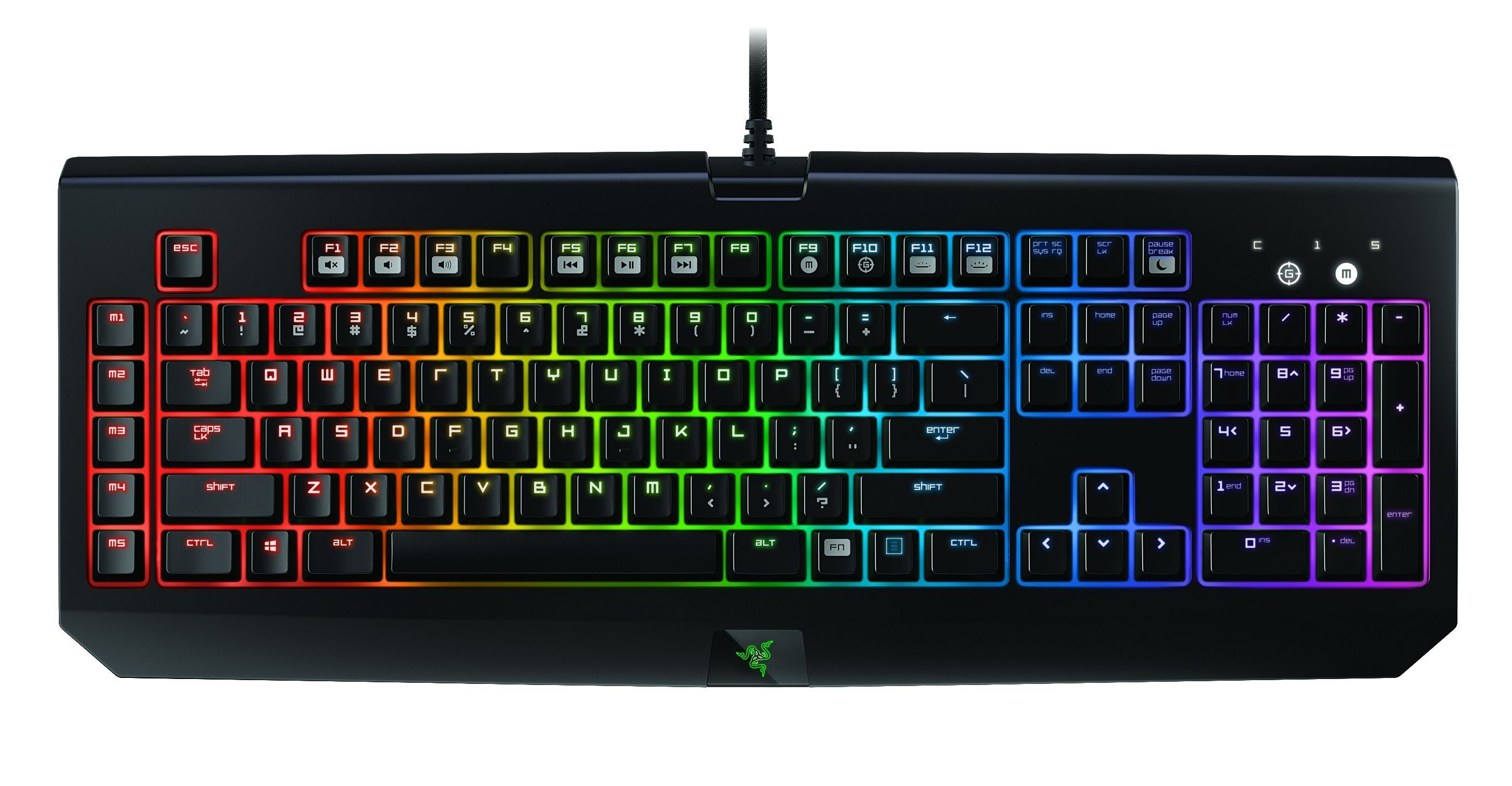 RAZER Gaming Tastatur »BlackWidow Chroma«