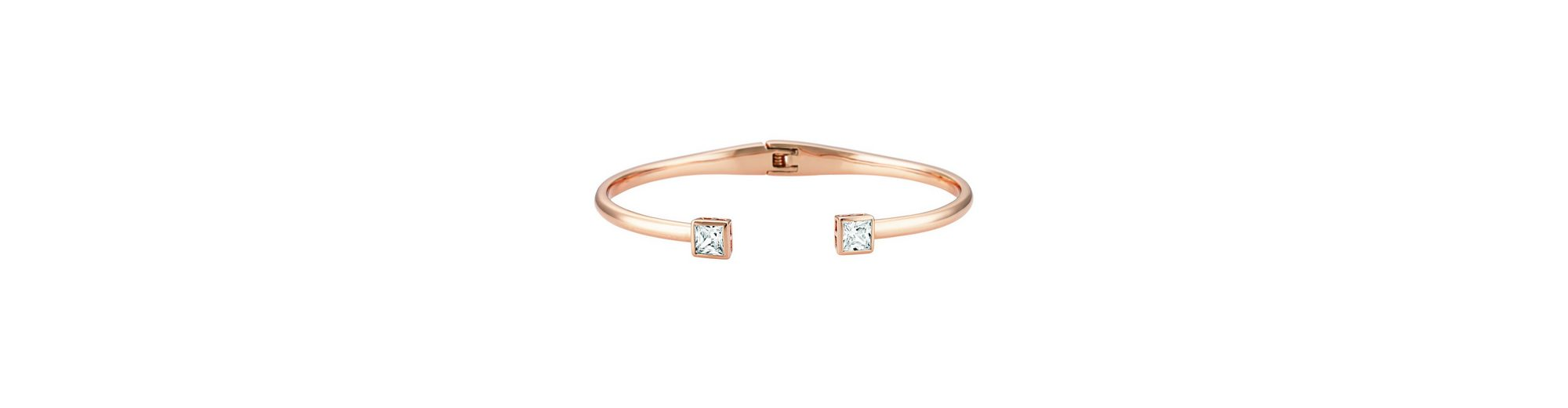 Buckley London Armschmuck »Messing rosévergoldet mit Zirkonia«