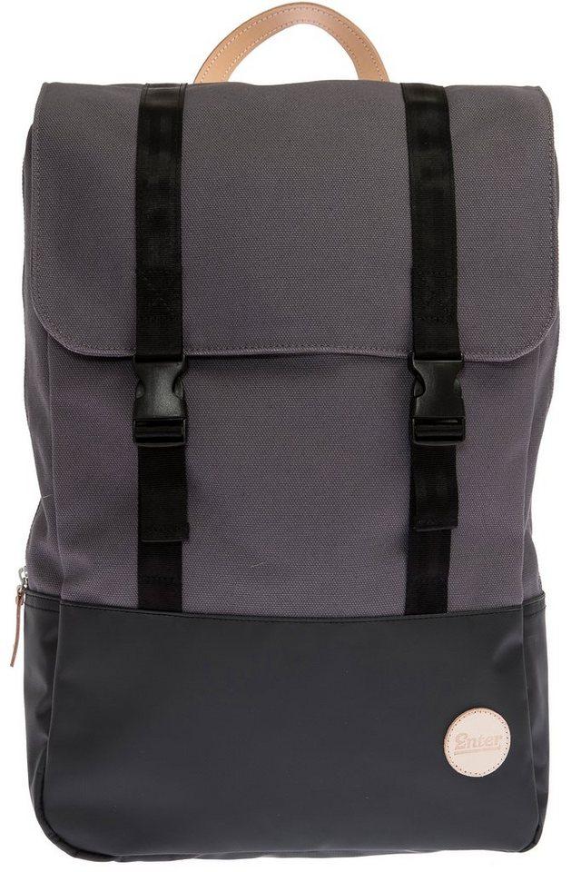 Enter Rucksack, »Research Backpack« in grau/schwarz