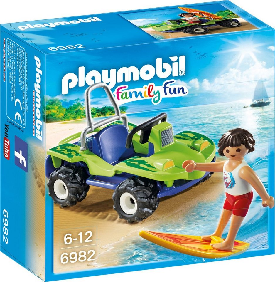 Playmobil® Surfer mit Strandbuggy (6982), »Family Fun«
