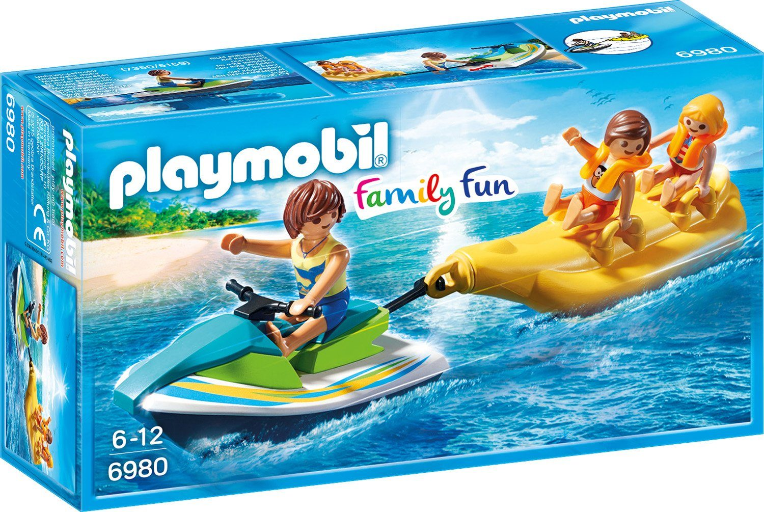 Playmobil® Aqua Scooter mit Bananenboot (6980), »Family Fun«