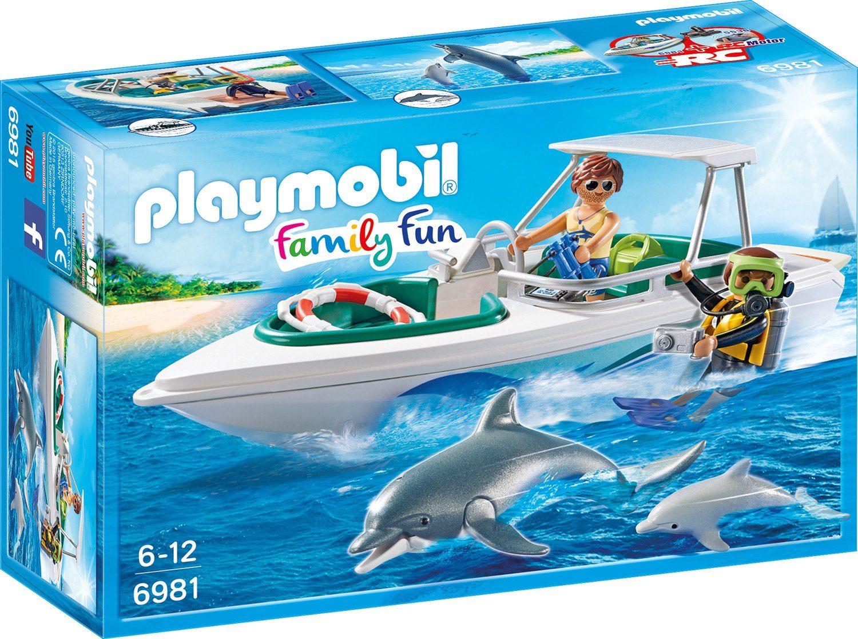 Playmobil® Tauchausflug mit Sportboot (6981), »Family Fun«