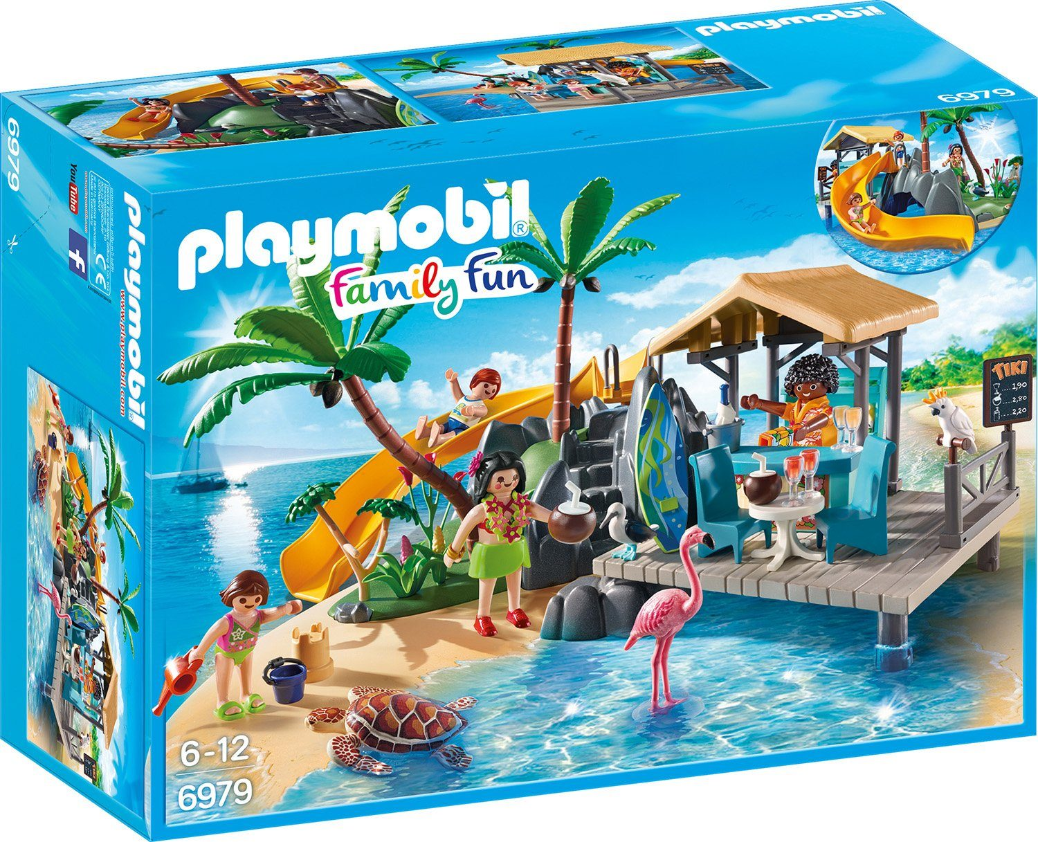 Playmobil® Karibikinsel mit Strandbar (6979), »Family Fun«