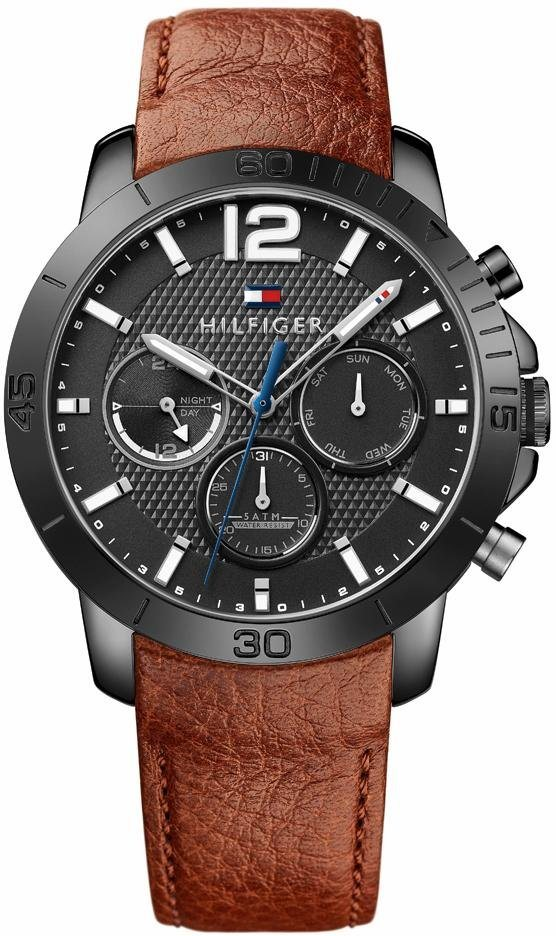 Tommy Hilfiger Multifunktionsuhr »Sophisticated Sport, 1791269« in braun