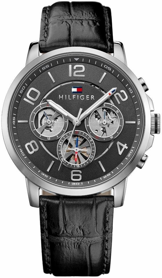 Tommy Hilfiger Multifunktionsuhr »Sophisticated Sport, 1791289« in schwarz