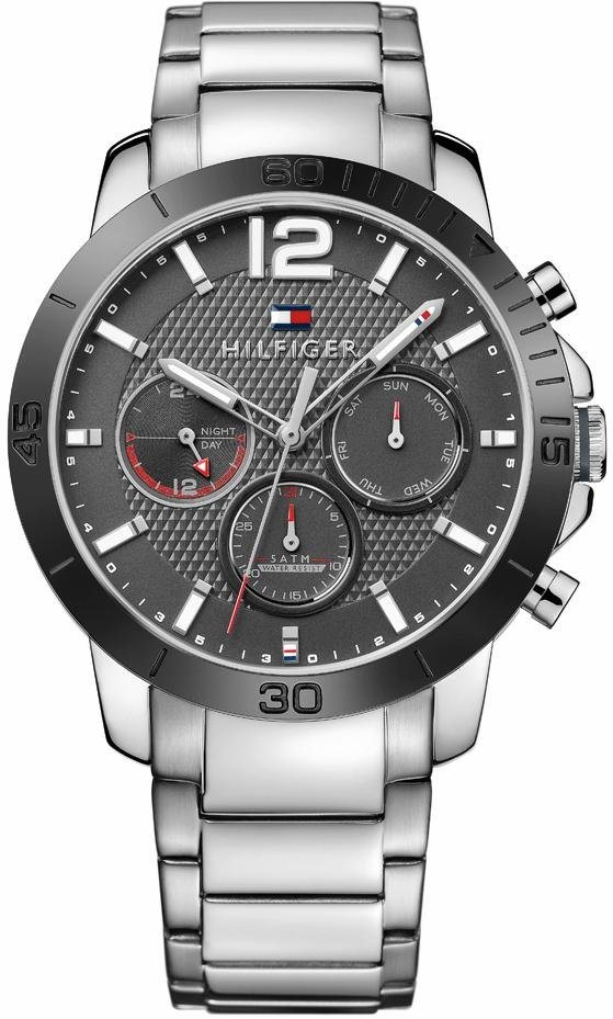 Tommy Hilfiger Multifunktionsuhr »Sophisticated Sport, 1791272« in silberfarben