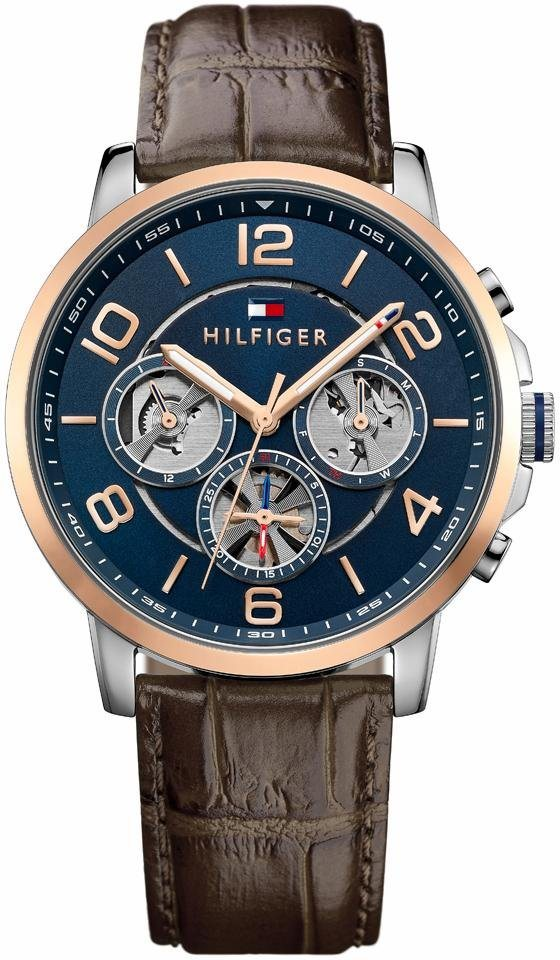 Tommy Hilfiger Multifunktionsuhr »Sophisticated Sport, 1791290« in braun