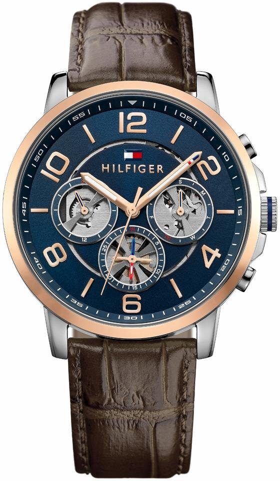 TOMMY HILFIGER Multifunktionsuhr »Sophisticated Sport, 1791290«
