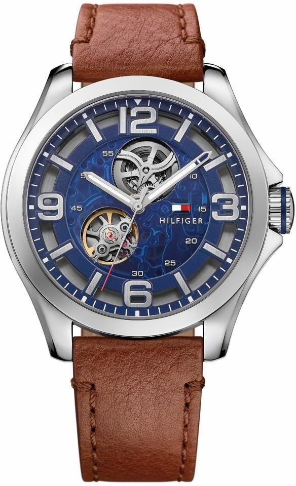 Tommy Hilfiger Automatikuhr »Sophisticated Sport, 1791278« in braun