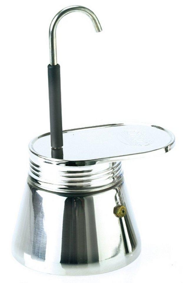 GSI Camping-Geschirr »Espresso Maker Edelstahl 4 Tassen« in grau