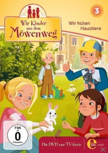 DVD »Wir Kinder aus dem Möwenweg - Wir hüten Haustiere«