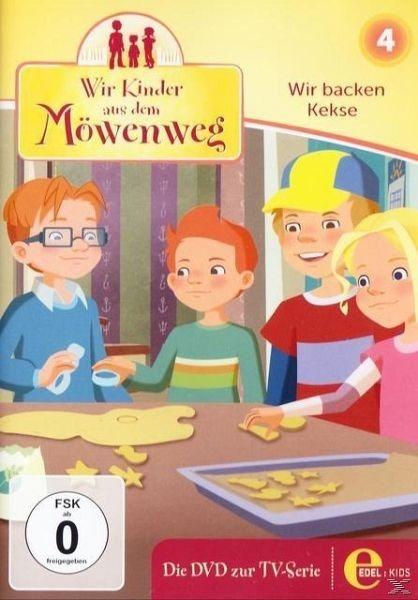 DVD »Wir Kinder aus dem Möwenweg - Wir backen Kekse«
