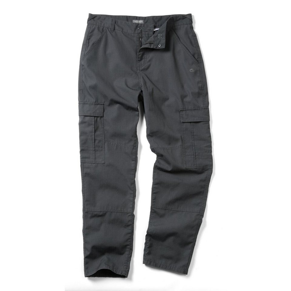 Craghoppers robuste Wanderhose »Mallory« in Black Pepper