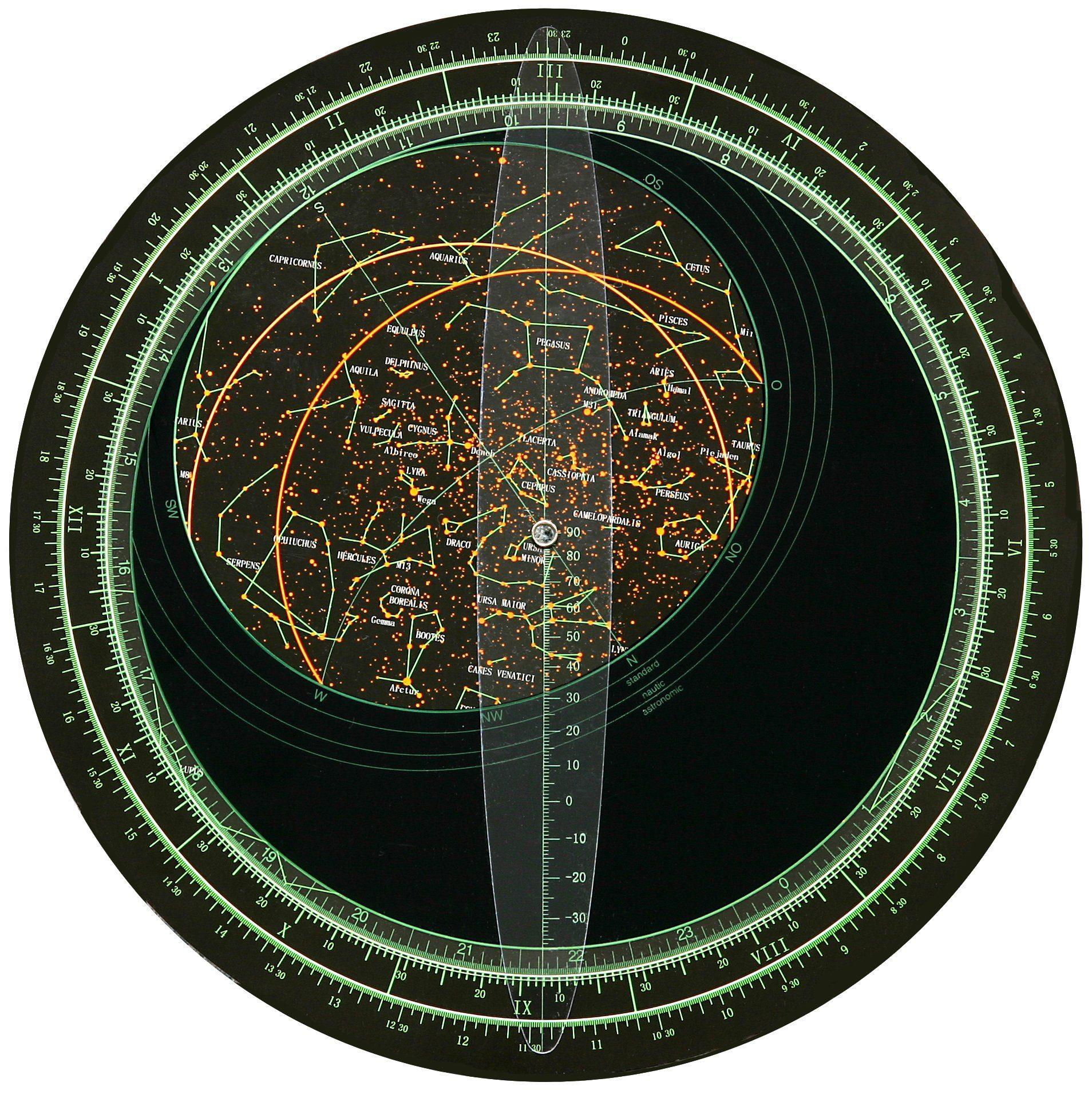 BRESSER Teleskop »BRESSER Drehbare Sternkarte«