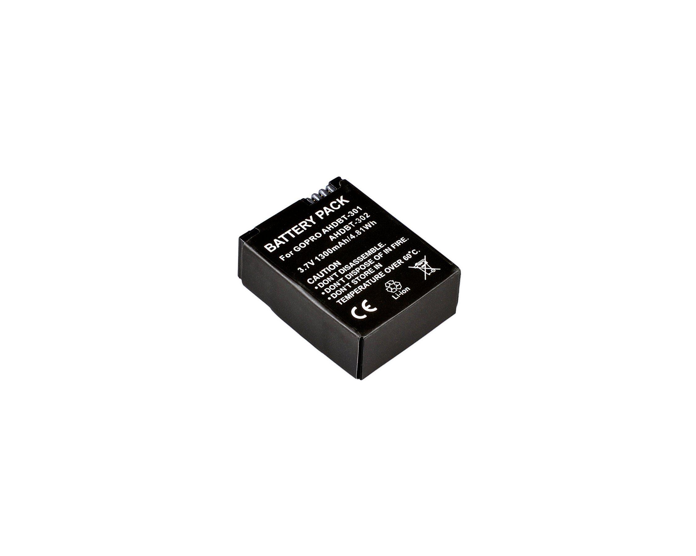 BRESSER Akku »Lithium-Ionen Akku für GoPro Hero 3 AHDBT-301«